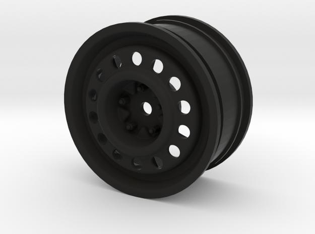"""1.9"""" Steelie Wheel (26mm Wide / 0mm offset) in Black Strong & Flexible"""