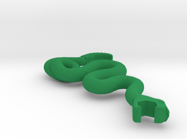 Plastic Join or Die in Green Strong & Flexible Polished