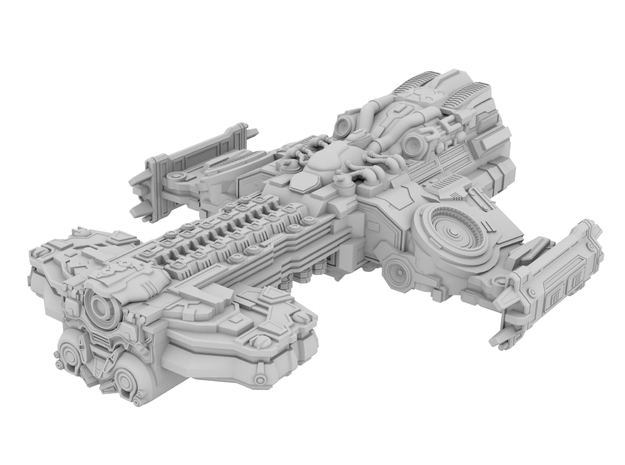Starcraft 2 - Hyperion Battlecruiser [100mm]
