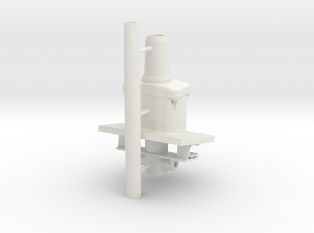 1/16 7.5 cm StuG 37 L/24  in White Natural Versatile Plastic