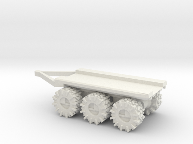 All-Terrain Vehicle 3 axil trailer for modular loa