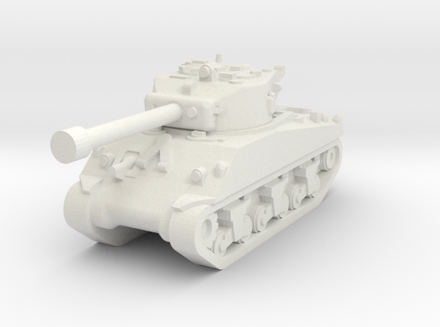 M4a3-76 1/160 in White Natural Versatile Plastic