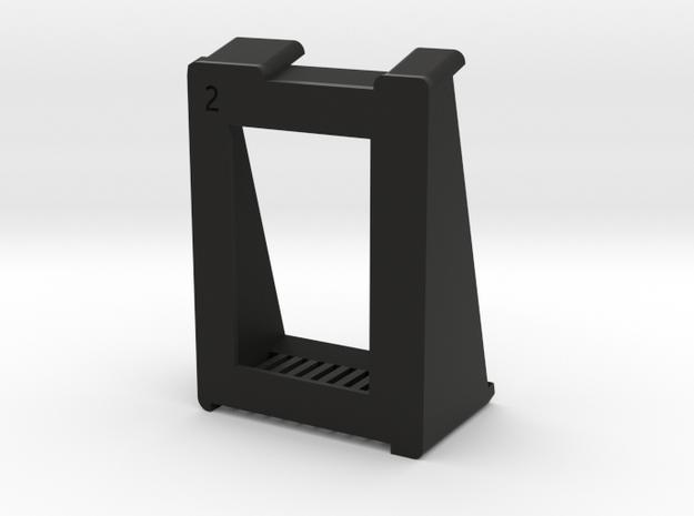 SimpleCradle in Black Natural Versatile Plastic