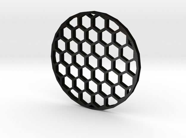 45mm Honeycomb Kill Flash (Stainless Steel) in Matte Black Steel
