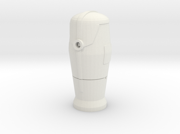1/60 Bornes d'incendie / Fire hydrant in White Natural Versatile Plastic