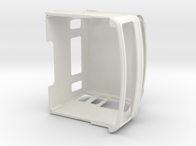 FTF slaapcabine 1 op 24 in White Natural Versatile Plastic