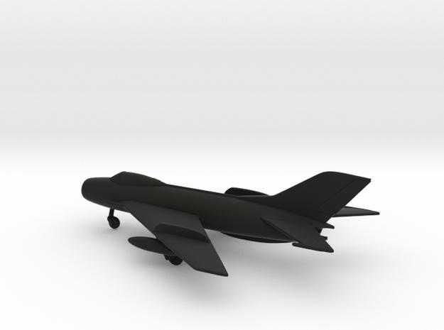 MiG-19S Farmer-C in Black Natural Versatile Plastic: 1:160 - N