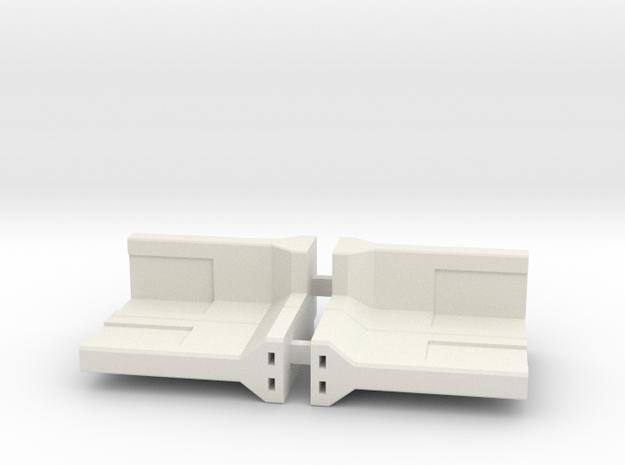 Concrete Retaining Wall - 90° Corner (pair)