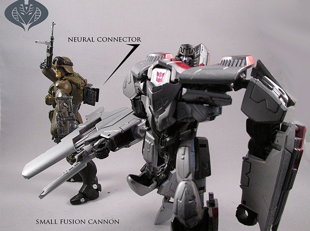 Action figure/TF crossover connector pack 3d printed