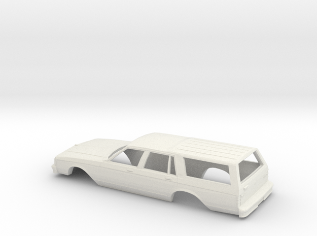 1/43 1988 Chevrolet Caprice Station Wagon in White Strong & Flexible