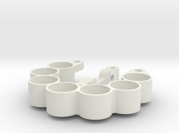 3D weight holder pos offset for marg stee kit 1 si in White Natural Versatile Plastic