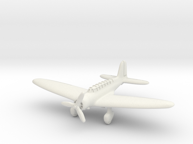 Mitsubishi B5M Mabel 1/285 6mm in White Natural Versatile Plastic