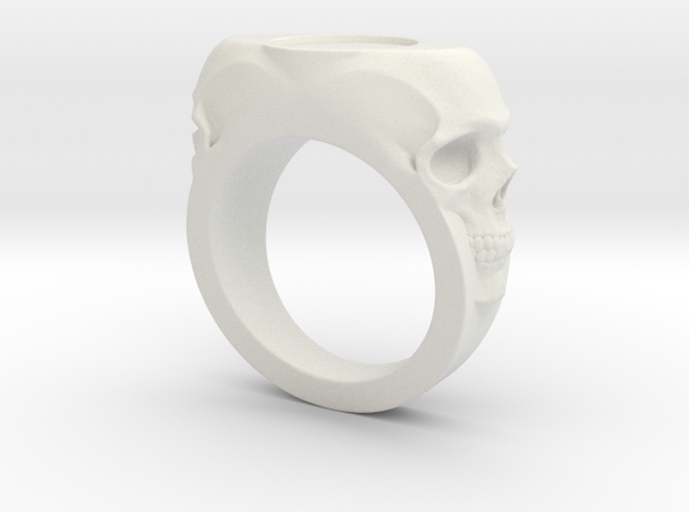Skull Signet Ring blank size 12