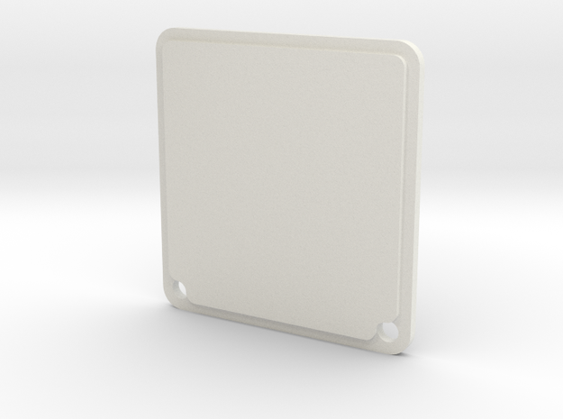 Wemos LED Shield Enclosure Lid in White Strong & Flexible