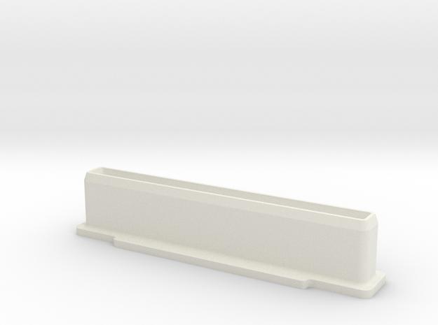 NES Cartridge Dust Plug in White Strong & Flexible