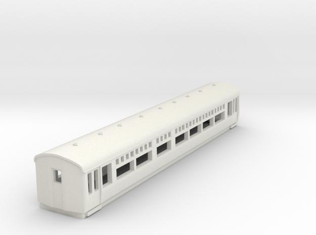 o-148-lner-trailer-1st-coach in White Natural Versatile Plastic