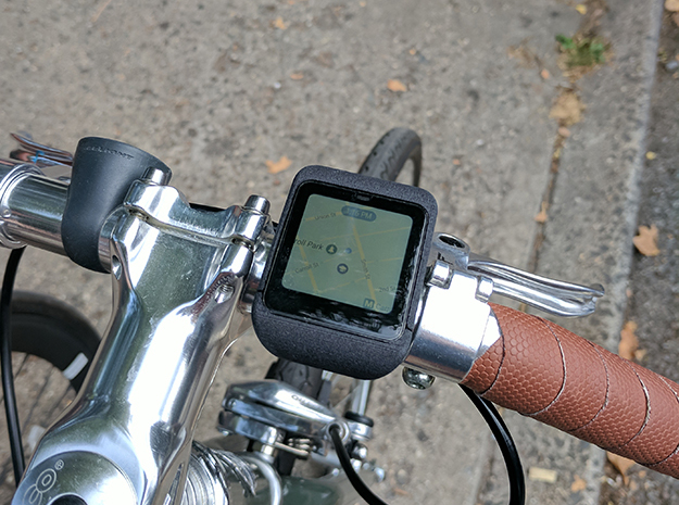 Sony Smartwatch 3 Bike mount Adapter in Black Natural Versatile Plastic