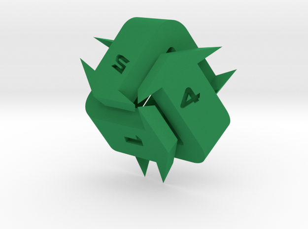 Recycling d6 in Green Strong & Flexible Polished