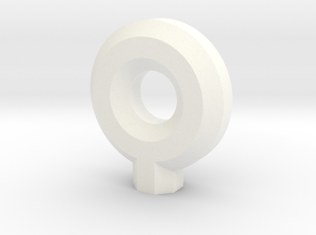 PRINTSTRUMENT17 in White Strong & Flexible Polished