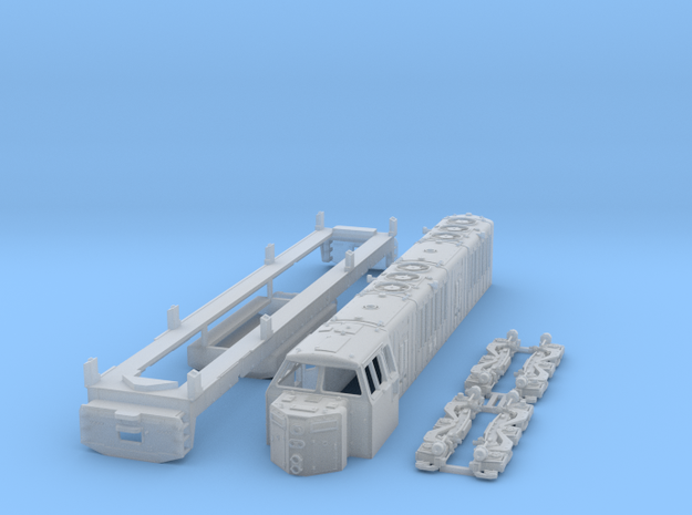 HO Scale KM ML4000 Hood unit