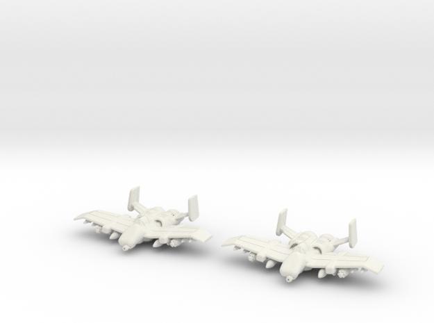 Tauri A-12 Flight: 1/270 scale in White Natural Versatile Plastic