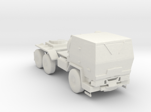 M1088 Up Armored Tractor 1:220 scale in White Natural Versatile Plastic