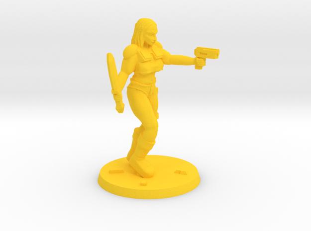 Raider Jasmin in Yellow Processed Versatile Plastic