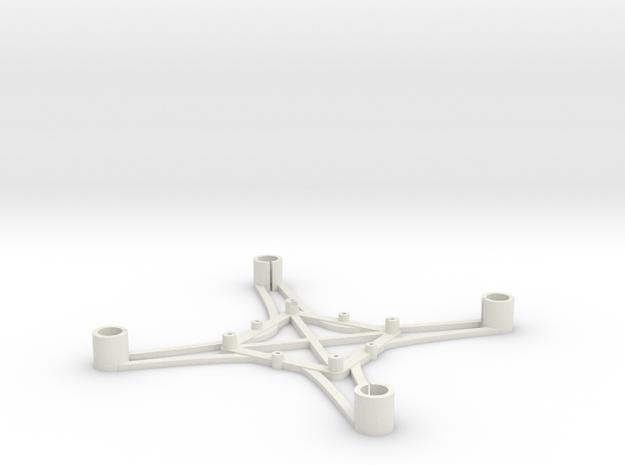 ST_drone_frame_v1_r6_btm_t2030+ in White Strong & Flexible