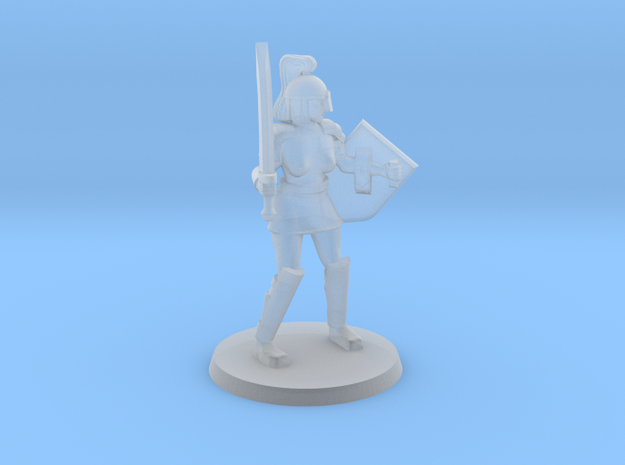 Istrid NSFW Crusader in Smooth Fine Detail Plastic
