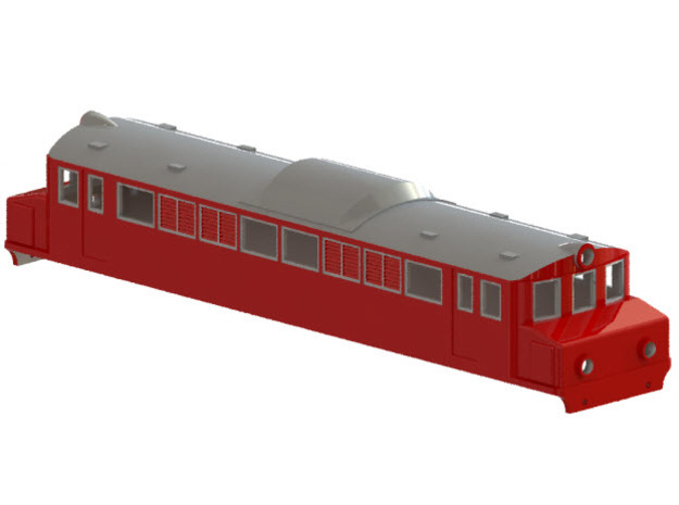 Swedish SJ electric locomotive type Mg - N-scale in Frosted Ultra Detail