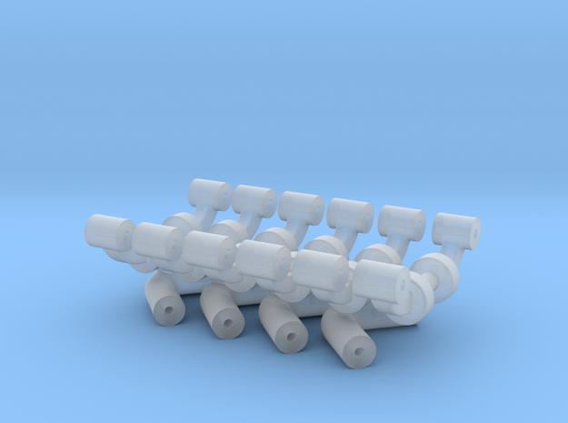 Squad 51 rail supports