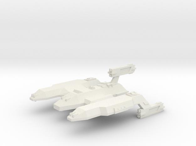 3788 Scale Lyran Lion Dreadnought (DN) CVN in White Strong & Flexible