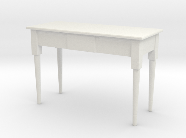 Printle Thing Table 06 - 1/24 in White Strong & Flexible