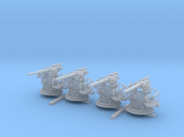 "1/144 RN 4""/45 (10.2 cm) QF MKV MKIII x4"