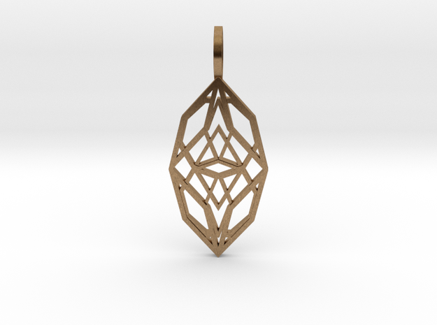 Cocoon of Light in Raw Brass