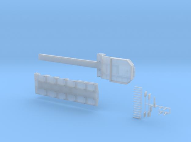 MPA 17 Tieflader ähnlich Goldhofer MPA 4 achs in Smooth Fine Detail Plastic