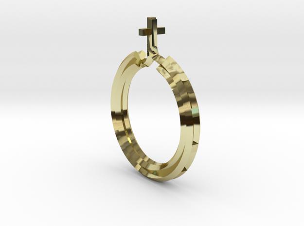 Rosary Ring in 18k Gold
