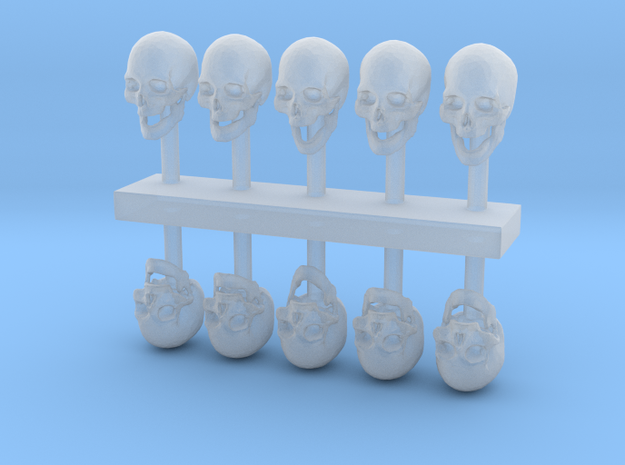 1:35 Sculpting  Skulls  in Frosted Extreme Detail