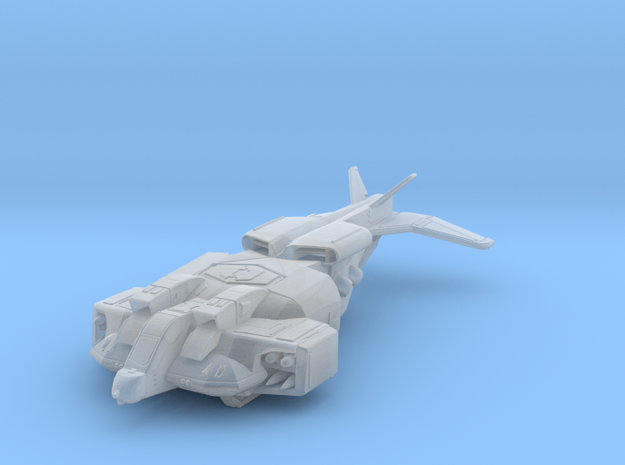 Dropship_closed in Smooth Fine Detail Plastic