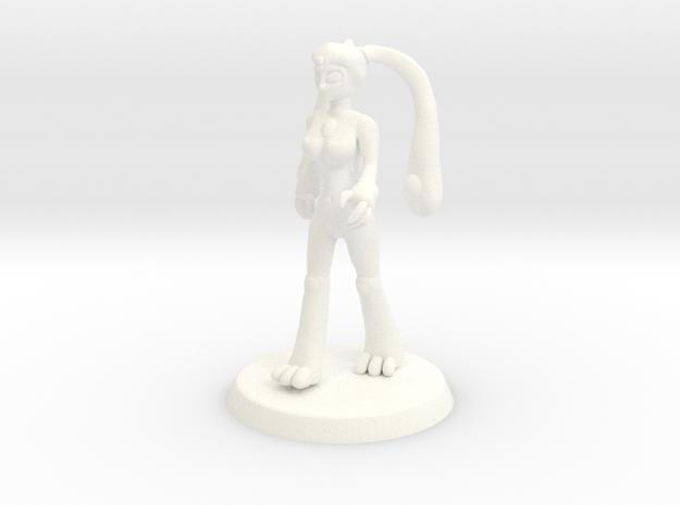 Chaos Daemon - Nurgle Plaguebearer 2/Slime Girl 2 in White Strong & Flexible Polished