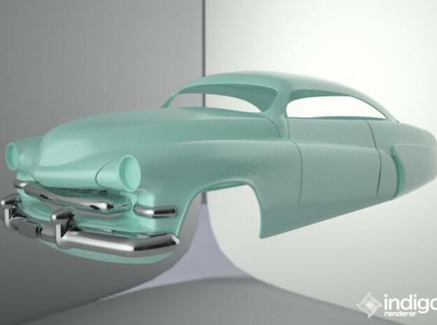Hirohata Mercury Bonnet. 3d printed Render Complete