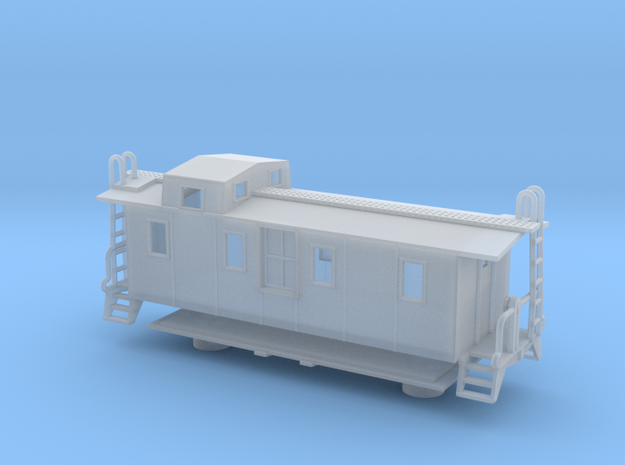 Illinois Central Side Door Caboose II - Zscale