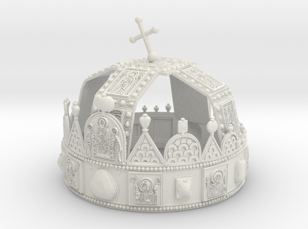 Hungarian Holy Crown - full scale version