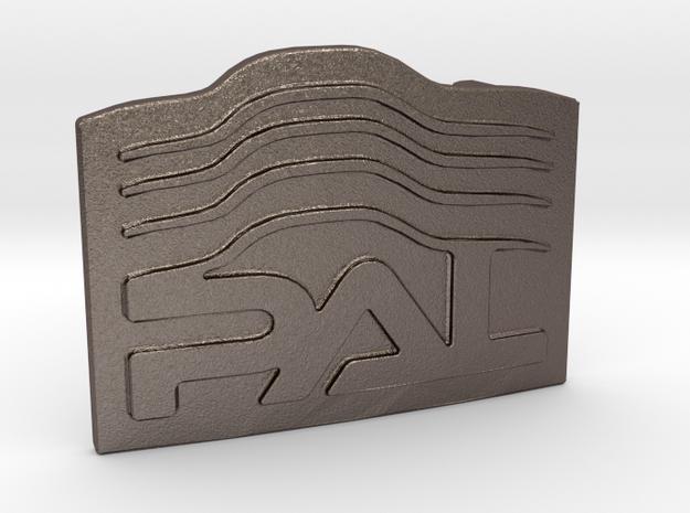 Custom Logo Buckle in Stainless Steel