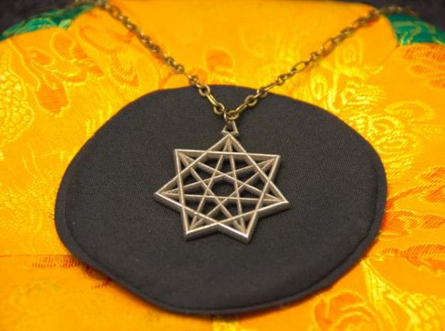 Double Heptagram Pendant