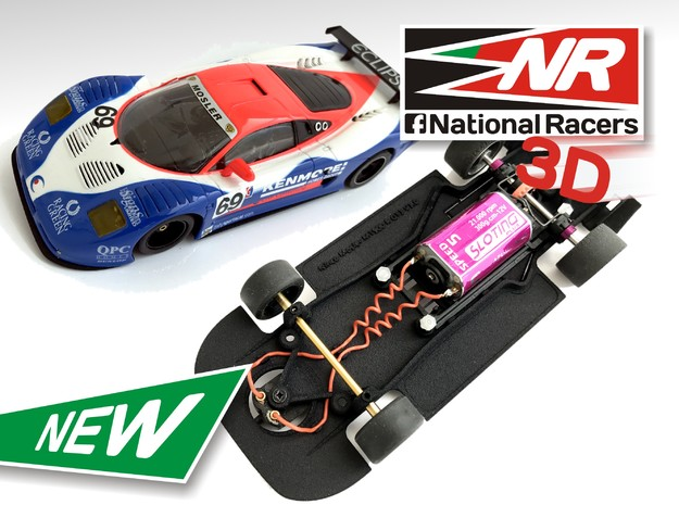 3D Chassis - Ninco Mosler MT900 R GT3 - Combo