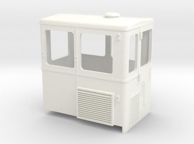 S2m-   Skl24 Führerhaus in White Processed Versatile Plastic