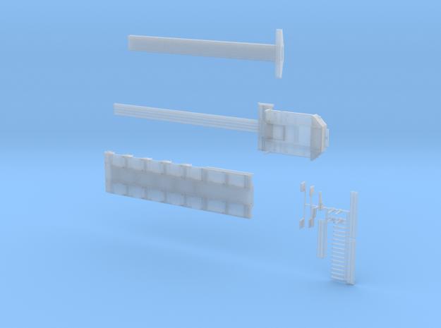MPA 09-1 Tieflader ähnlich Goldhofer_6 achs MPA 2  in Smooth Fine Detail Plastic