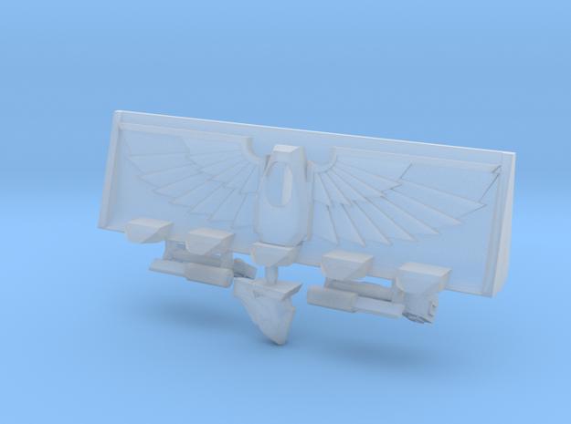 Devotional Eagle Bulldozer Blade Kit in Smooth Fine Detail Plastic