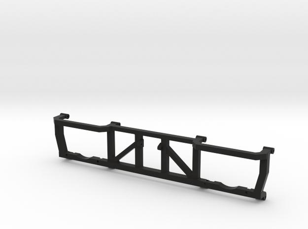 Montagerahmen Doppelschleuder mit durchgehender Mi in Black Natural Versatile Plastic